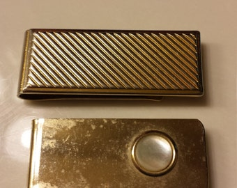 2 Vintage Money Clips
