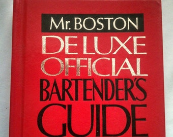 Mr Boston Bartenders Guide