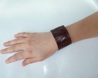 leather bracelet- leather cuff