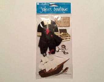 Jolee's Boutique Le Grande Edition Embellishments - Pirates (5 pieces)