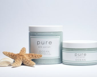 PURE Ocean Silk Polish | Sugar Scrub Collection