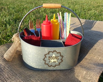 Personalized Utensil Caddy