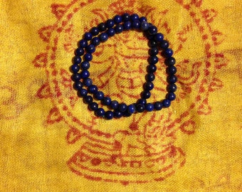 Two Lapis Lazuli bracelet