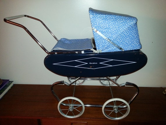Items Similar To Vintage 1960 S Gendron Doll Pram Carriage