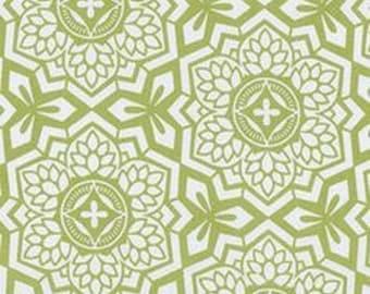 "Joel Dewberry  Free Spirit      Botanique  ""Mosaic Bloom""   Asparagus"