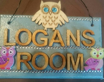 Personalised door plaques...made to order