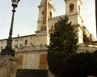 Rome #2090 - The Spanish Steps, Rome, Italy