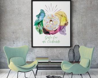 Toe spoils my slut - Digital Illustration for children