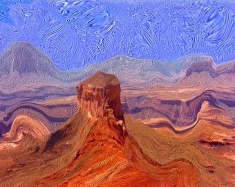 Ship Rock Grand Canyon