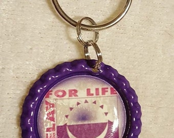 Relay for Life Keychain