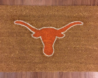 University of Texas Longhorns Decorative Doormat
