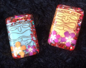 Hand made resin swester clips