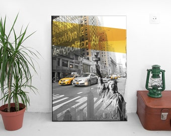 canvas // New York taxi