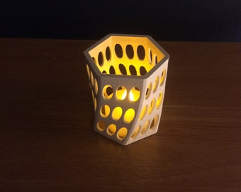 Oval Lamp , 3D Printed