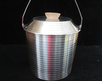 Lundtofte Stainless Steel Danish Ice Bucket