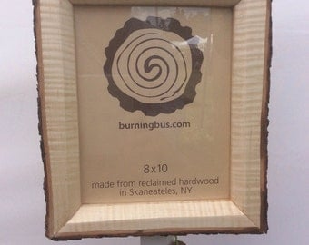 8x10 reclaimed maple picture frame