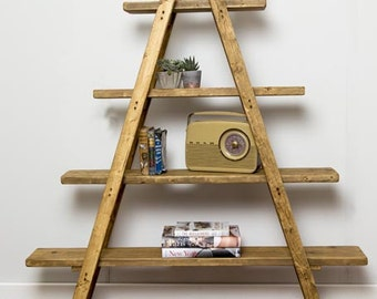 Kraki Handmade Reclaimed Wood Shelving. Custom Made To Order.