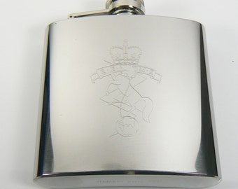 REME Stainless Steel Hip Flask