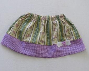 Handmade baby skirt in size 6 months +