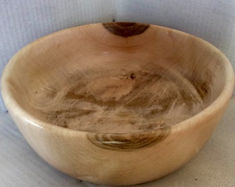 Maple Hand Turned Wood Bowl **SALE** NOW 1/2 PRICE!