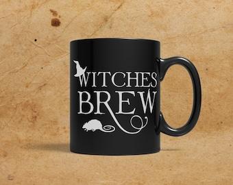 Witches Brew, Black Mug