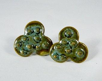 Lovely Green Earrings