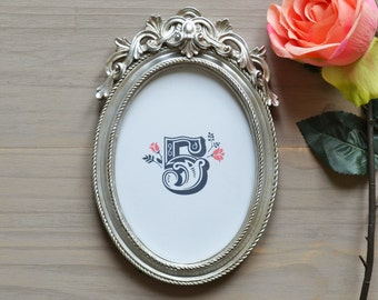 Wedding Table Numbers - Coral & Grey (frame not included)