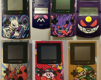 Your Own Custom Gameboy Color - casing only