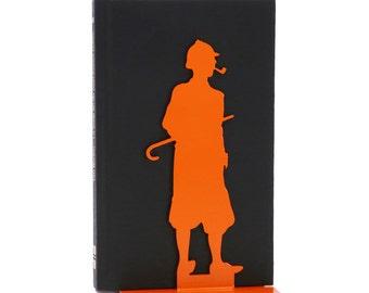 Bookends original Sherlock Holmes black or orange