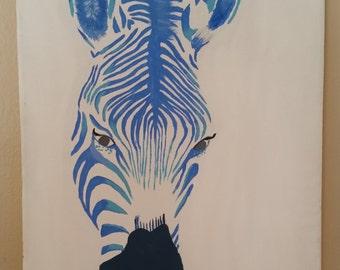 Z The Blue Zebra
