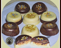 Posh Peanut Butter Chocolate Cups (Gift Box of 5)/Male Gift/Female Gift/Male Birthday/Female birthday/Peanut Butter Lover