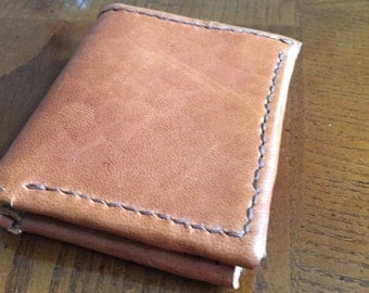 Bifold Wallet with Notes pocket.