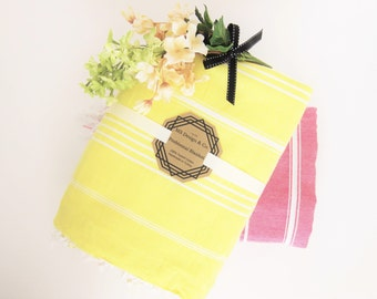 Turkish Towel, Turkish Peshtemal Towel, Turkish Bath Towel, Hamam Towel, Beach Towel, Turkish Blanket, Travel, bridesmaid gift