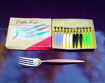 Small snails vintage forks
