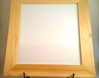 Picture Frame - Unfinished wood frame - 8x10 - Paint Ready
