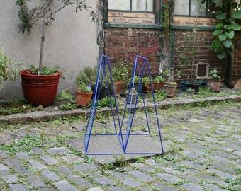Blue trestle