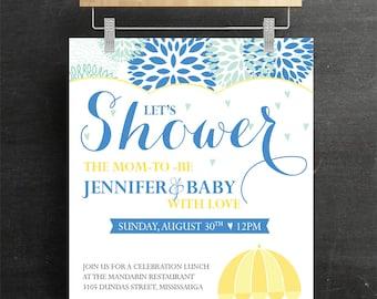 Baby Shower, Elephant Theme