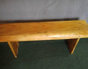 Purple alder bench