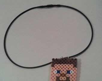 Minecraft Necklace or Keychain