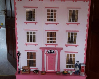Handmade Fully Furnished Dolls House