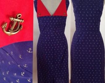 Vintage inspired handmade dress