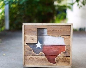 Handmade Texas Wood Art