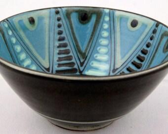 H.A. Kahler Small Bowl Danish Mid Century Modern Vintage Scandinavian Pottery