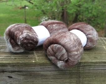 Mystery Wool Silk Sparkle Batt