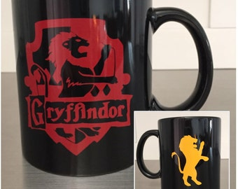 Harry Potter Gryffindor House Crest Coffee Mug, Hogwarts