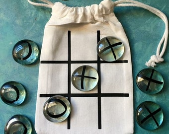 Personalized Tic Tac Toe Bags.