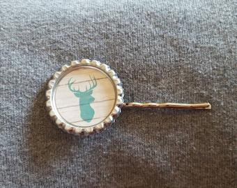Deer hair clip