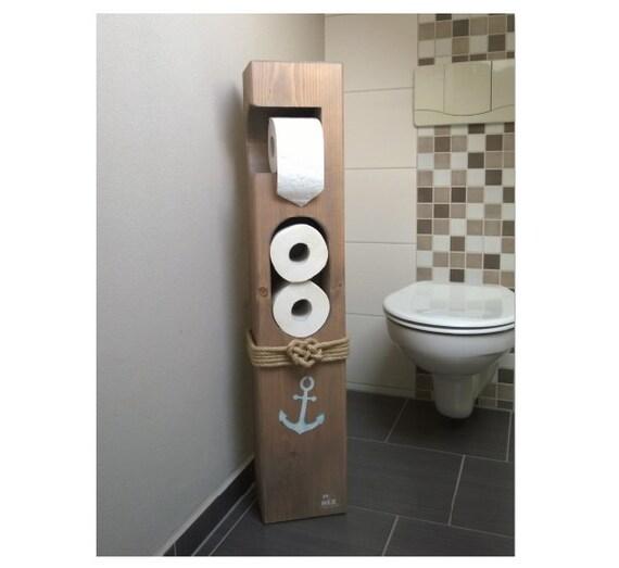 Toilettenpapierhalter Maritim Holz | {Seifenspender holz eiche 36}
