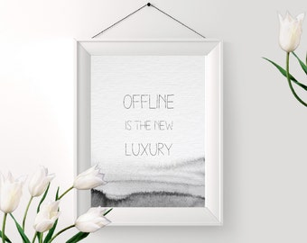 Printable Offline Print - Digital Art - Instant Download