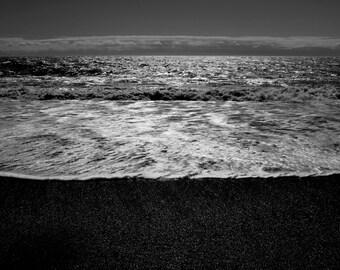 Vik Iceland Black Sand Beach Photograph